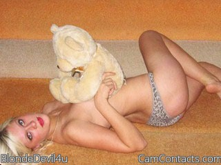 Start VIDEO CHAT with BlondeDevil4u