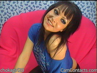 Start VIDEO CHAT with chokagirl20