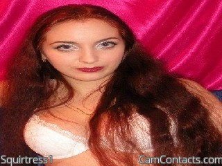 Start VIDEO CHAT with Squirtress1