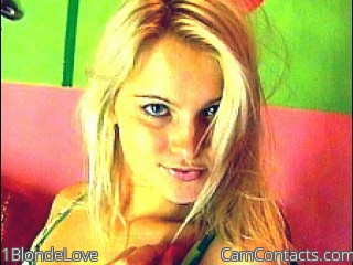 Start VIDEO CHAT with 1BlondeLove