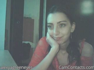 Start VIDEO CHAT with alexyagreeneyes