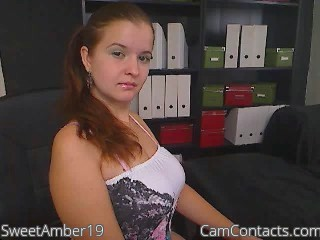 Start VIDEO CHAT with SweetAmber19
