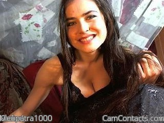 Start VIDEO CHAT with Cleopatra1000