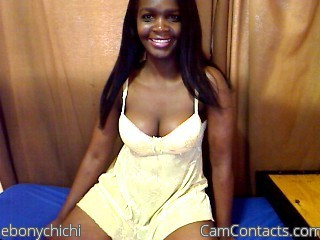 Start VIDEO CHAT with ebonychichi