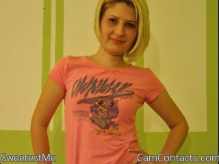 Start VIDEO CHAT with SweetestMe