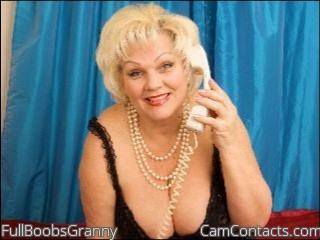 Start VIDEO CHAT with FullBoobsGranny