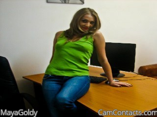 Start VIDEO CHAT with MayaGoldy