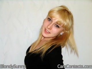 Start VIDEO CHAT with BlondySunny