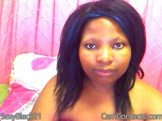 Start VIDEO CHAT with SexyBlack21