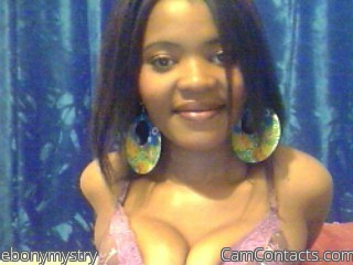 Start VIDEO CHAT with ebonymystry