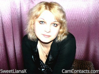 Start VIDEO CHAT with SweetLianaX