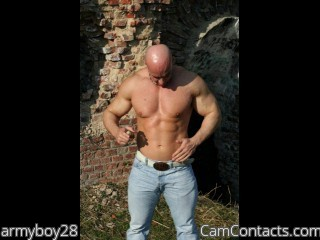 Start VIDEO CHAT with armyboy28