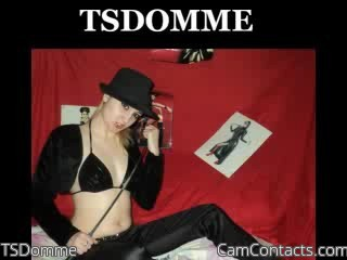 Start VIDEO CHAT with TSDomme