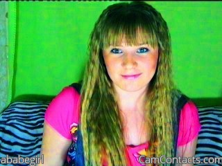 Start VIDEO CHAT with ababegirl