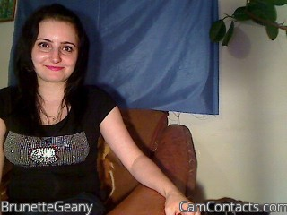 Start VIDEO CHAT with BrunetteGeany