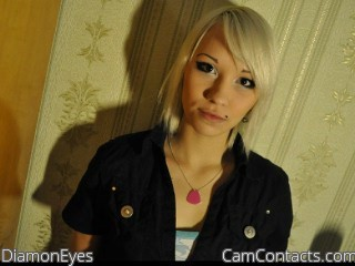 Start VIDEO CHAT with DiamonEyes