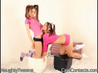 Start VIDEO CHAT with NaughtyTweens