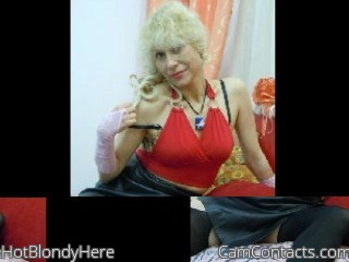 Start VIDEO CHAT with HotBlondyHere