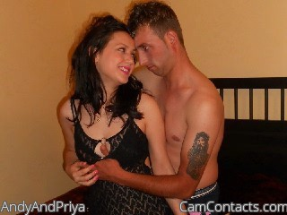 Start VIDEO CHAT with AndyAndPriya
