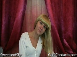 Start VIDEO CHAT with SweetandShy