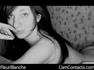 Start VIDEO CHAT with FleurBlanche