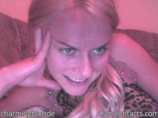 Start VIDEO CHAT with charmingblonde