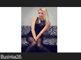 LIVE SEXCAM VIDEO CHAT mit Businka26