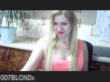 LIVE SEXCAM VIDEO CHAT mit 007blondx