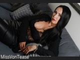 LIVE SEXCAM VIDEO CHAT mit MissVonTease