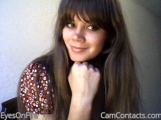 Webcam model EyesOnFire from CamContacts