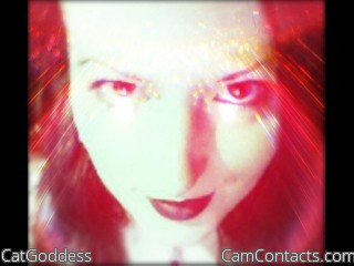 Webcam model CatGoddess from CamContacts