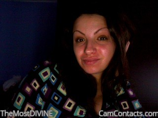 Webcam model TheMostDIVINE from CamContacts