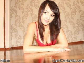 Start VIDEO CHAT with Akina