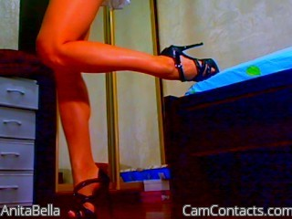 Start VIDEO CHAT with AnitaBella