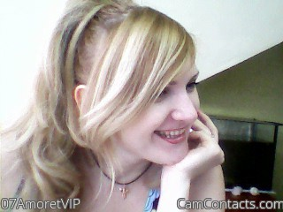 Webcam model 07AmoretVIP from CamContacts
