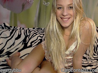 Webcam model swettybbx from CamContacts
