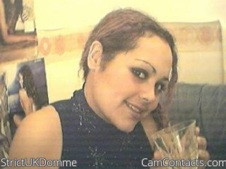 Webcam model StrictUKDomme from CamContacts