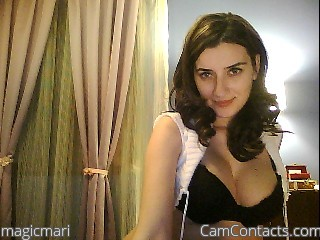 Webcam model magicmari from CamContacts