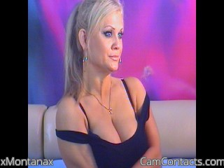 Webcam model xMontanax from CamContacts