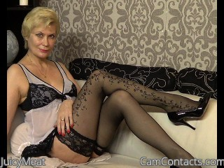 Webcam model JuicyMeat from CamContacts