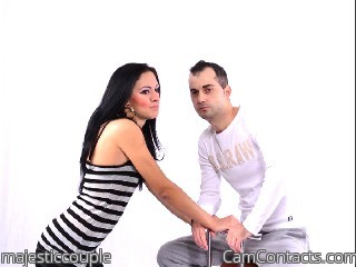 Webcam model majesticcouple from CamContacts