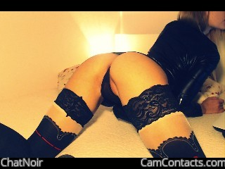 Webcam model ChatNoir from CamContacts