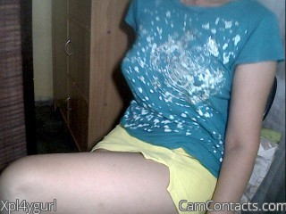 Webcam model Xpl4ygurl from CamContacts