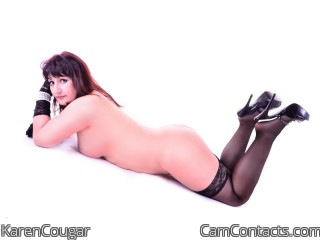 Webcam model KarenCougar from CamContacts