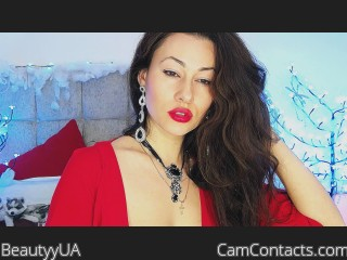 Webcam model BeautyyUA from CamContacts