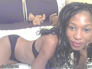 Webcam model slenderxx from CamContacts