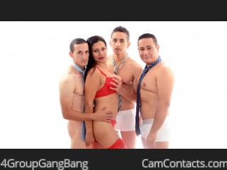 Start VIDEO CHAT with 4GroupGangBang