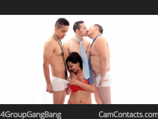 Webcam model 4GroupGangBang from CamContacts