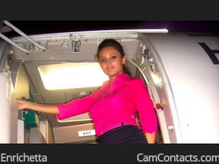 Webcam model Enrichetta from CamContacts