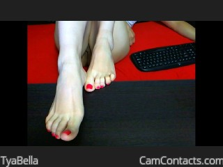 Webcam model TyaBella from CamContacts